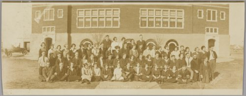 High school students in Garfield, Kansas - Page
