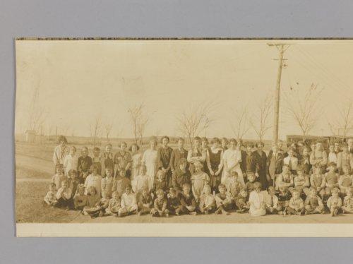 High school students in Garfield, Kansas - Page