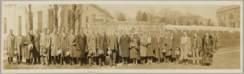 Kansas University glee club at White House - Page