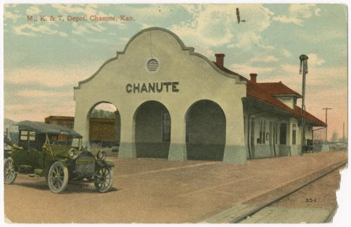 Missouri-Kansas-Texas Railroad depot, Chanute, Kansas - Page