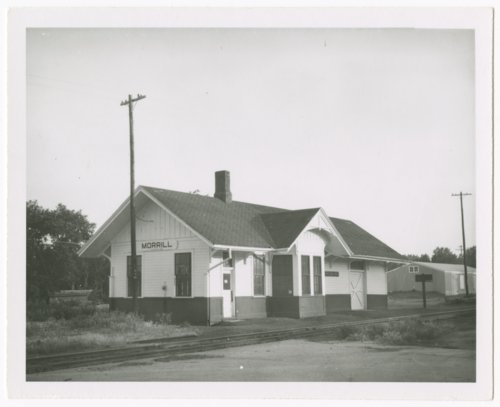 Union Pacific Railroad Company depot, Morrill, Kansas - Page