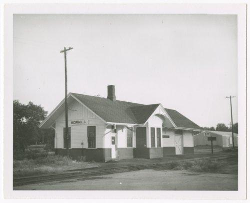 Union Pacific Railroad Company depot, Morrill, Kansas - Page
