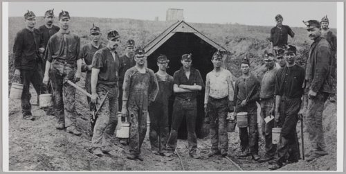 Group of miners in Crawford County, Kansas - Page