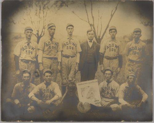 Ancient Order of United Workmen baseball team in Shawnee, Kansas - Page