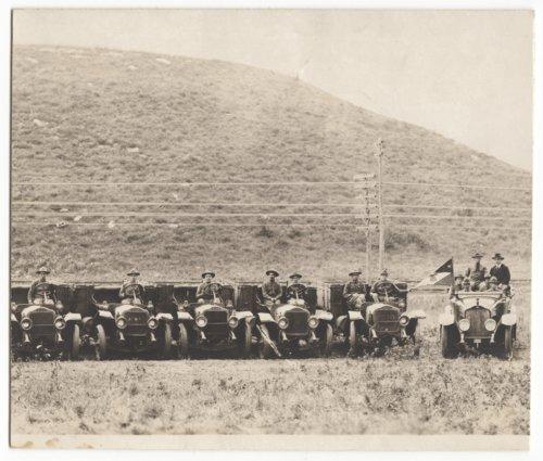 Trucks at Camp Funston, Kansas - Page