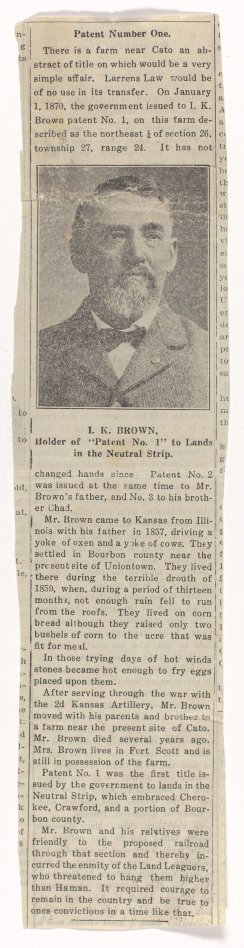 Israel K. Brown collection - Page