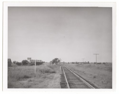 St. Louis and San Francisco Railway sign board, Brooks, Kansas - Page