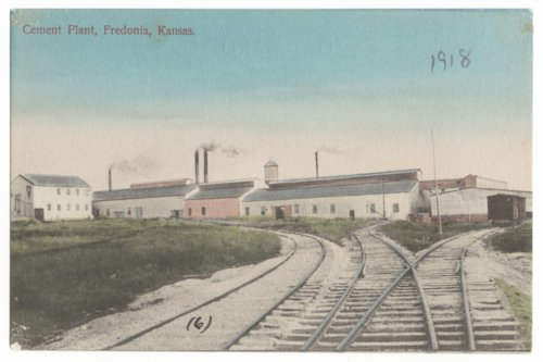 Cement plant, Fredonia, Wilson County, Kansas - Page