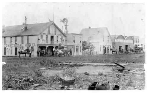 Street scene, Fredonia, Wilson County, Kansas - Page