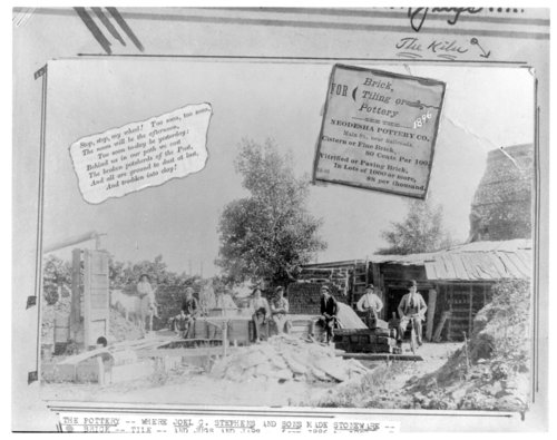 Stephens Pottery Company, also called Neodesha Pottery Company, Neodesha, Wilson County, Kansas - Page