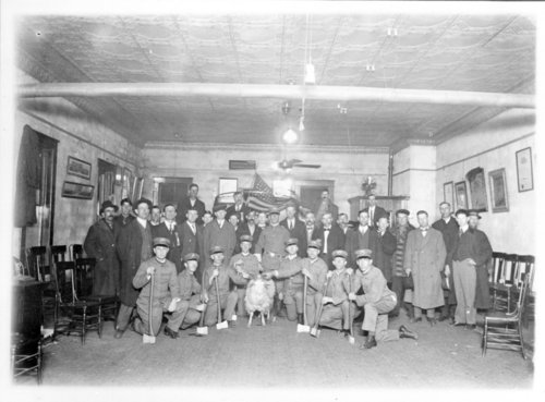 Group portrait of the Modern Woodmen, Neodesha, Wilson County, Kansas - Page
