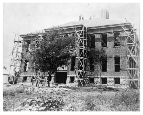 Construction of South School, Neodesha, Wilson County, Kansas - Page