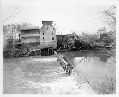 DeMoss Mill on the Fall River in Neodesha, Wilson County, Kansas - Page