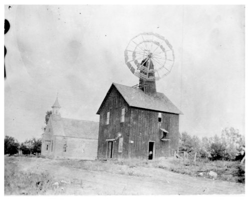 Fundy's Mill and the Congregational Church, Neodesha, Wilson County, Kansas - Page