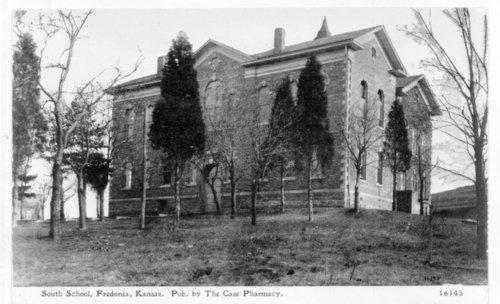 South School, Fredonia, Wilson County, Kansas - Page