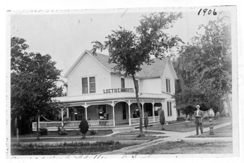 The Loether Hotel, Fredonia, Wilson County, Kansas - Page