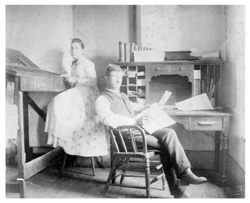 Newspaper office photograph - Page