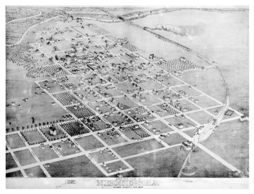 Birds-eye view of Neodesha, Wilson County, Kansas - Page