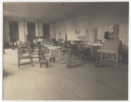 Domestic Science Classroom of the Manual Training Project, Fredonia, Kansas - Page