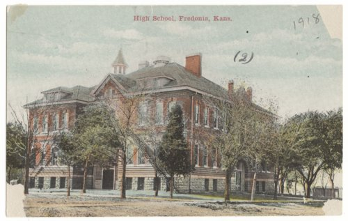 High School, Fredonia, Wilson County, Kansas - Page