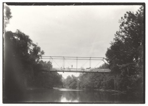 Bridge over Verdigris River near Guilford, Wilson County, Kansas - Page