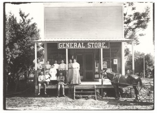General store and post office, Guilford, Wilson County, Kansas - Page