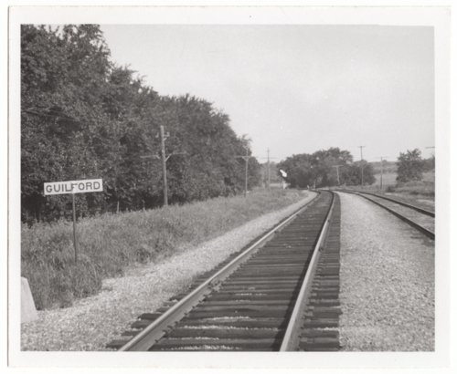 Missouri Pacific Railroad Company's sign board, Guilford, Kansas - Page