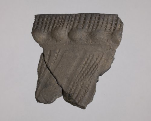 Zoned Dentate Stamped Rim Sherd from 14LN344 - Page