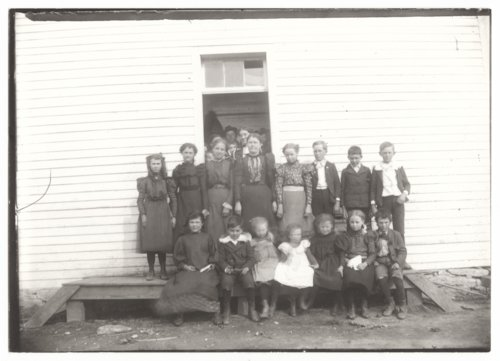 School group, Guilford, Wilson County, Kansas - Page