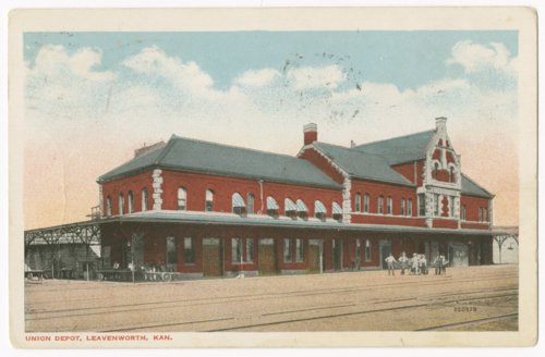 Union Depot, Leavenworth, Kansas - Page