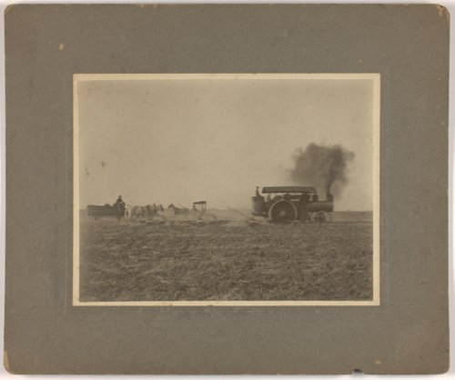 Threshing on the Brosa farmstead, Valley Falls, Kansas - Page