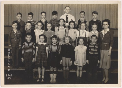 Roseland school class, Miami County, Kansas - Page