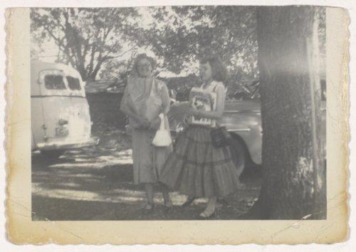 Meredith Ann Elliott Stippich and her mother Ruth Frances Masker Elliott - Page