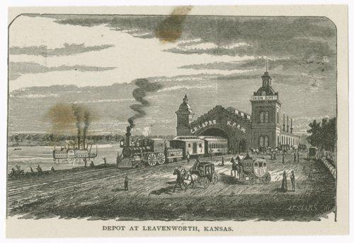 Union Depot, Leavenworth, Kansas - Page