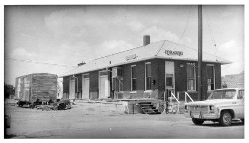 Atchison, Topeka and Santa Fe Railway Company's freight depot, Syracuse, Kansas - Page