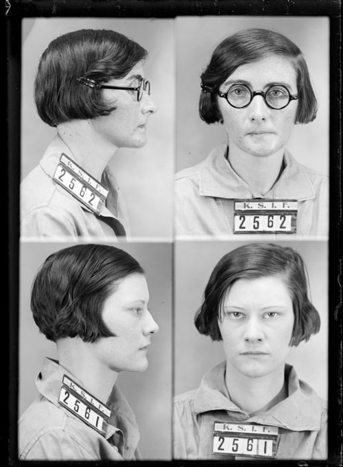 Martha Fansler and Meta Storty, Prisoners 2561 and 2562,  Kansas State Industrial Farm - Page