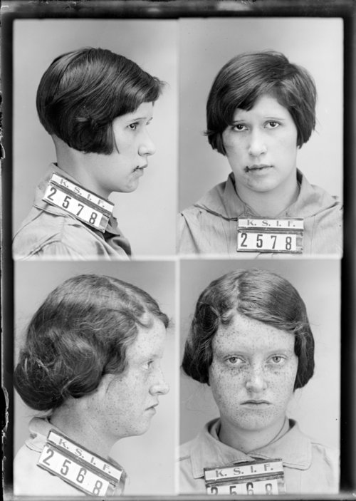 Izette Baker and Mary Heater, Prisoners 2568 and 2578, Kansas State Industrial Farm - Page
