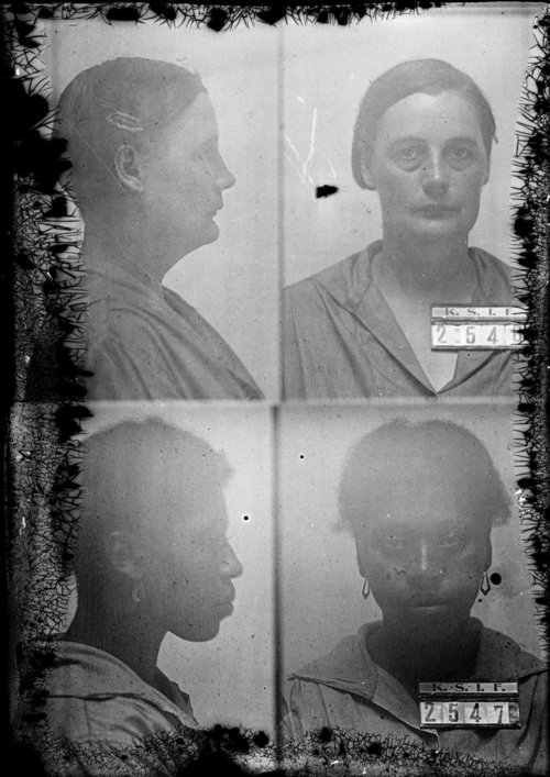 Mamie Wilson and Ocie Porter, Prisoners 2546 and 2547, Kansas State Industrial Farm - Page