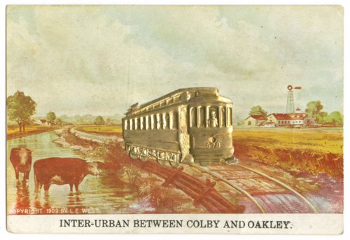 Inter-urban railway between Colby, Thomas County, and Oakley, Logan County, Kansas - Page