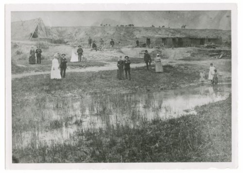 See sod house, Thomas County, Kansas - Page