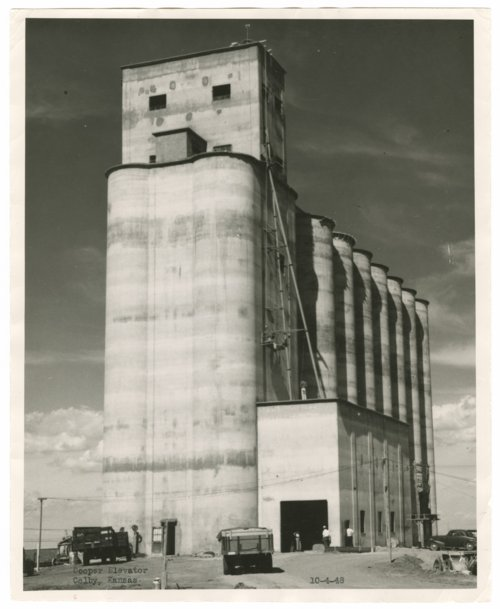 Cooper Elevator, Colby, Thomas County, Kansas - Page