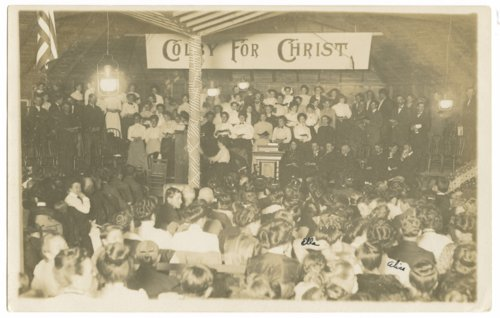"""Colby for Christ"" religious revival, Colby, Thomas County, Kansas - Page"
