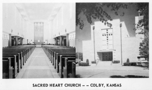 Sacred Heart Catholic Church,  Colby, Thomas County, Kansas - Page