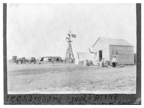 Oscar Chambers farmstead, Thomas County, Kansas - Page