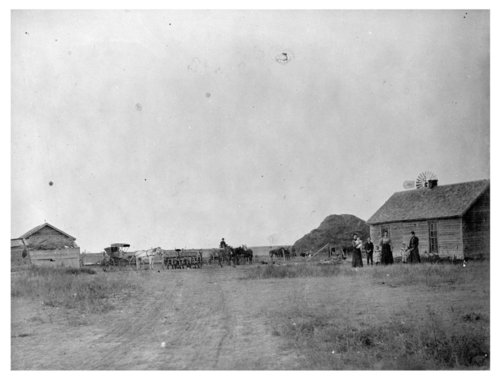 Dible farmstead near Rexford, Thomas County, Kansas - Page