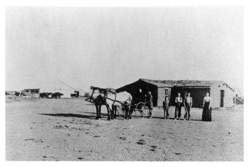 John Smith home and farmstead south of Gem, Thomas County, Kansas - Page