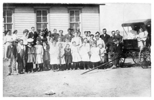 Unidentified rural school in Thomas County, Kansas - Page