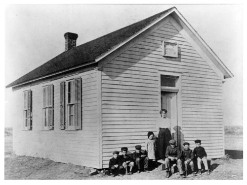 Students at the Abilene School, District 10, Thomas County, Kansas - Page