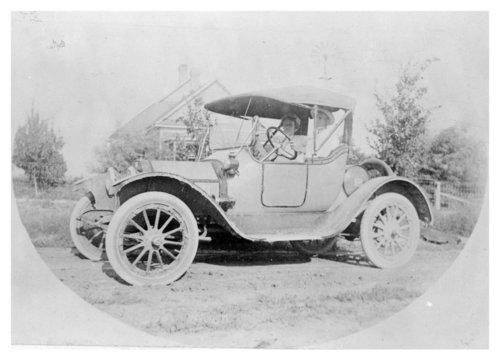 A couple and their 1912 Buick Roadster, Brewster, Thomas County, Kansas - Page