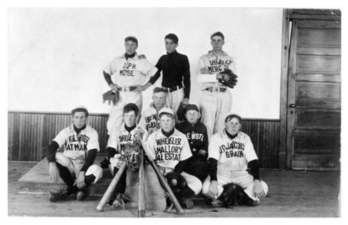Brewster baseball team, Thomas County, Kansas - Page